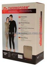 мужское термобелье 4-008 черное Thermoform