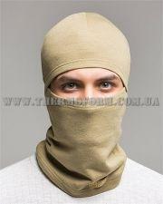 шапка-маска балаклава 1-014 Thermoform песочная