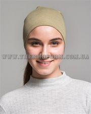 женская полумаска-шарф Thermoform женская песочная