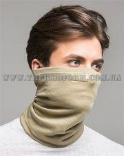 мужская полумаска-шарф Thermoform песочная